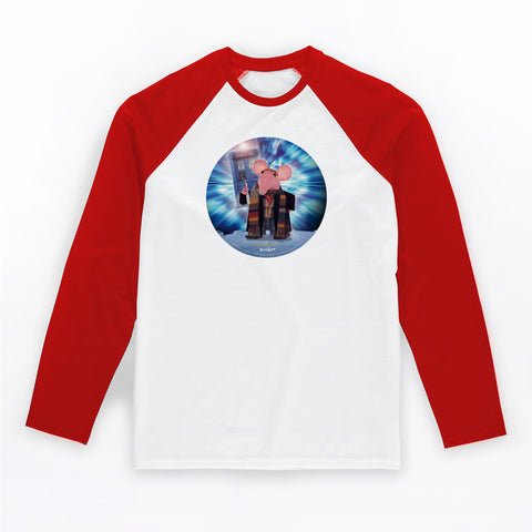 DoppelClangers Baseball T-Shirt - Fourth Doctor