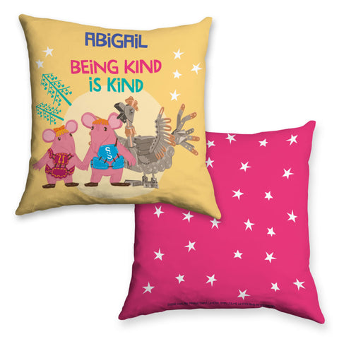 Being Kind Clangers Personalised Cushion
