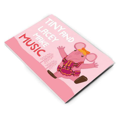 Make Music Clangers Personalised A5 Note Pad