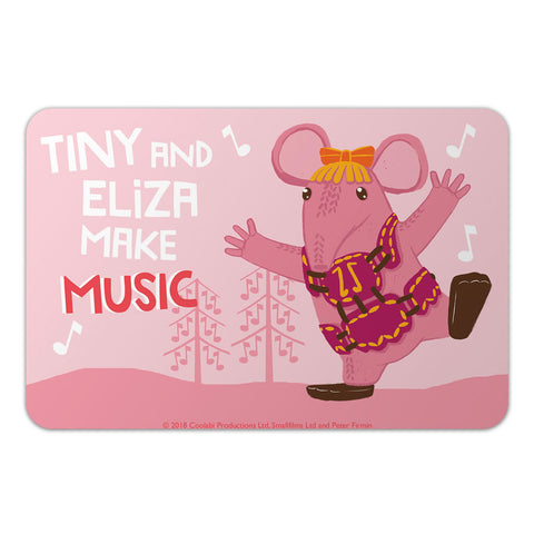 Make Music Clangers Personalised Door Plaque