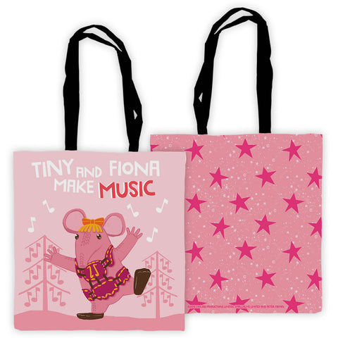 Make Music Clangers Personalised Edge to Edge Tote Bag