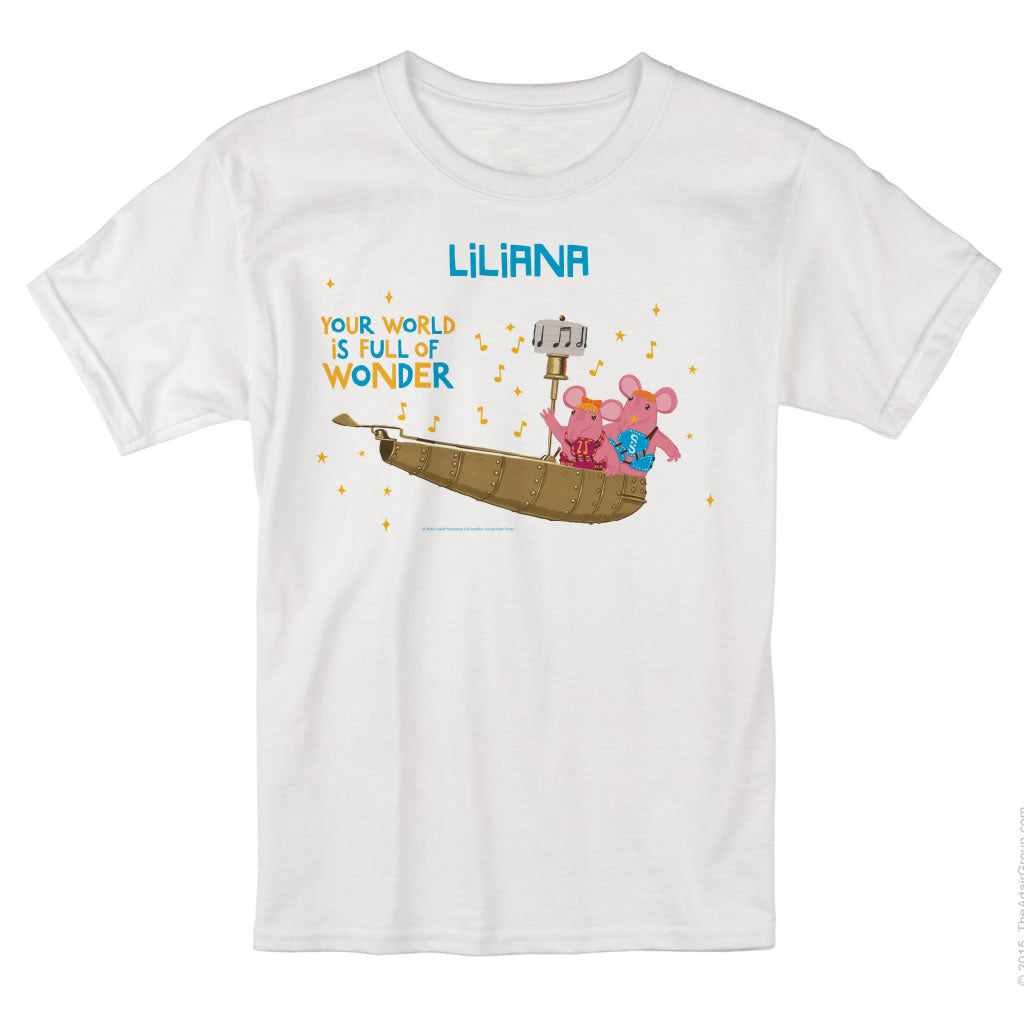Full of Wonder Clangers Personalised T-Shirt