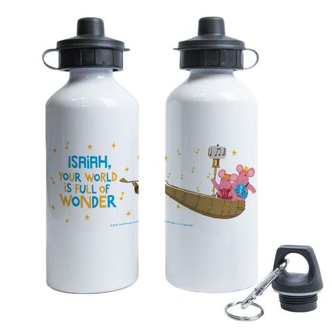 Full Of Wonder Clangers Personalised Water Bottle