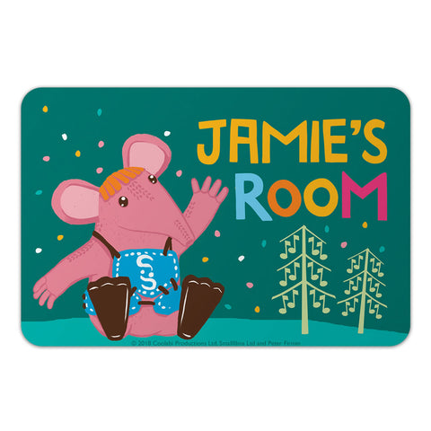 Fun to be Small Clangers Personalised Door Plaque