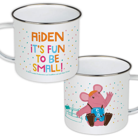 Fun to be Small Clangers Personalised Enamel Mug