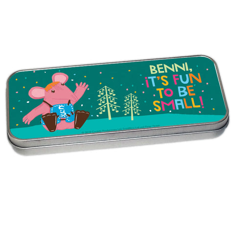 Fun to be Small Clangers Personalised Pencil Tin