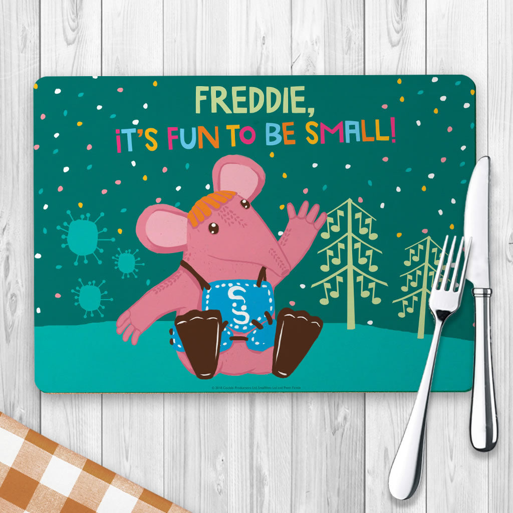Fun to be Small Clangers Personalised Placemat (Lifestyle)