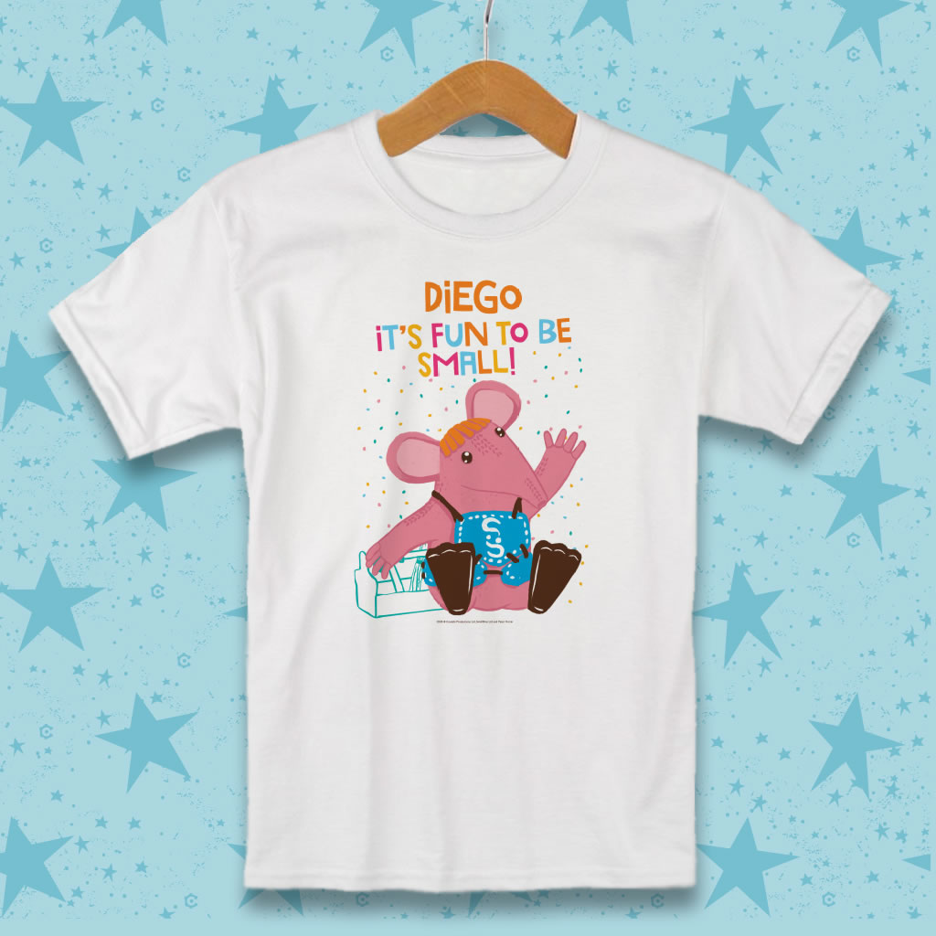 Fun to be Small Clangers Personalised T-Shirt