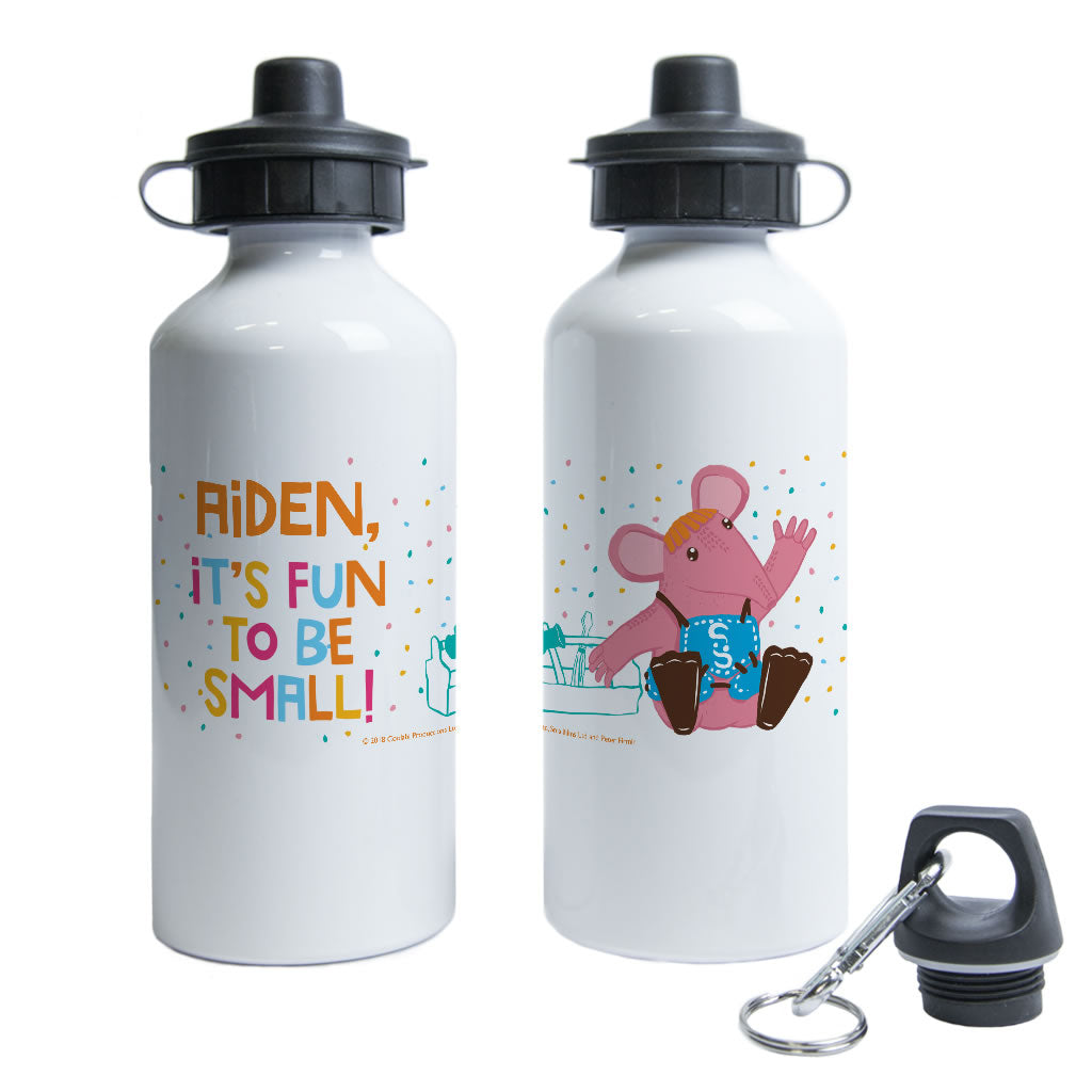 Fun to be Small Clangers Personalised Water Bottle