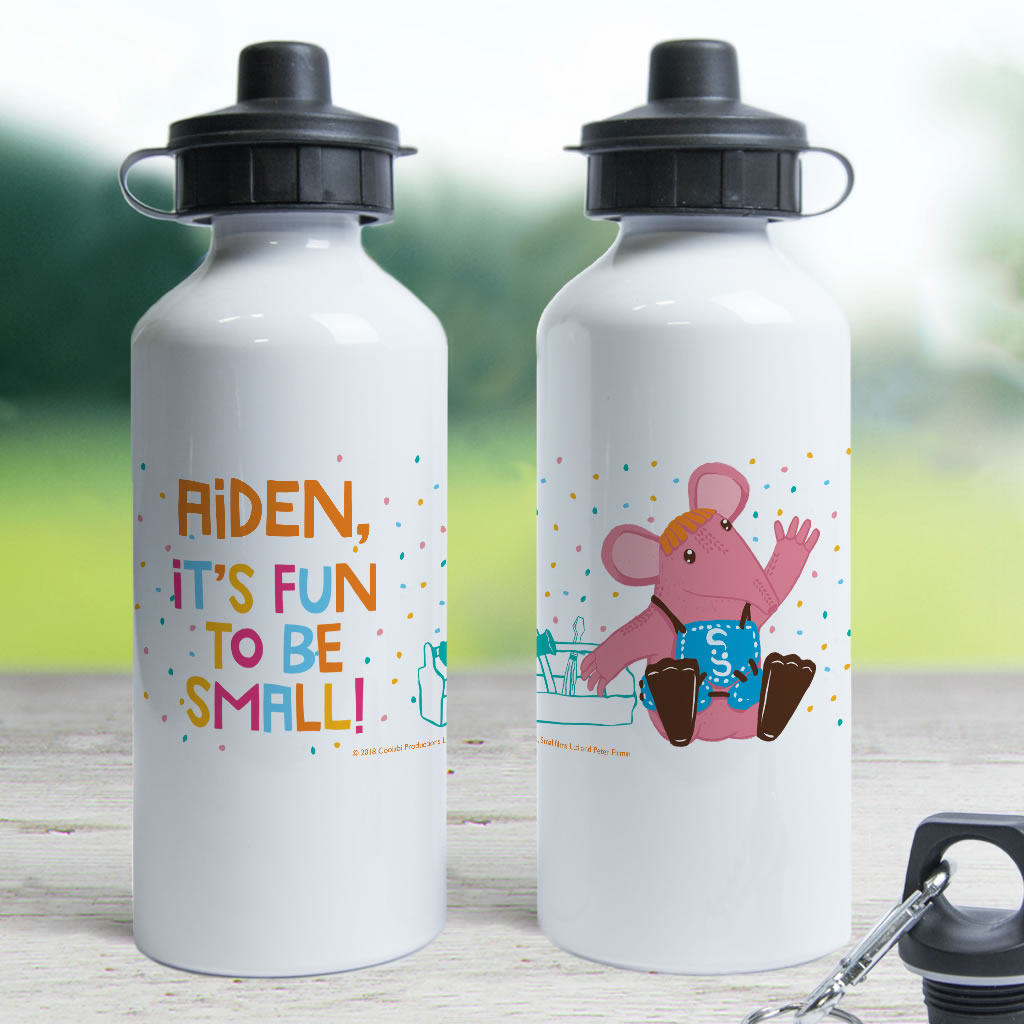 Fun to be Small Clangers Personalised Water Bottle (Lifestyle)