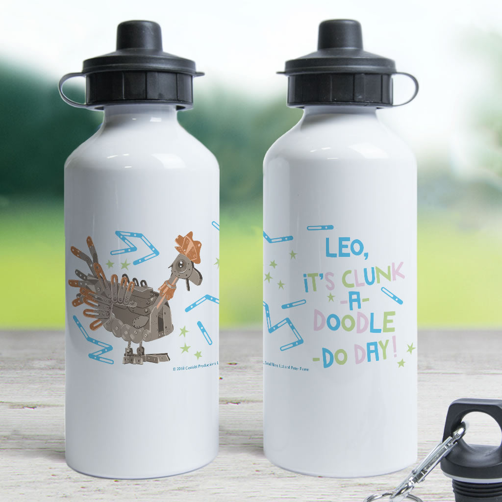 Clunk A Doodle Clangers Personalised Water Bottle (Lifestyle)