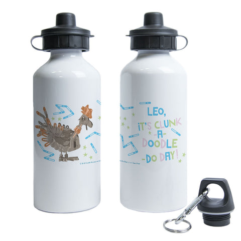 Clunk A Doodle Clangers Personalised Water Bottle