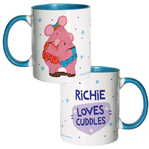 Cuddles Clangers Personalised Coloured Insert Mug