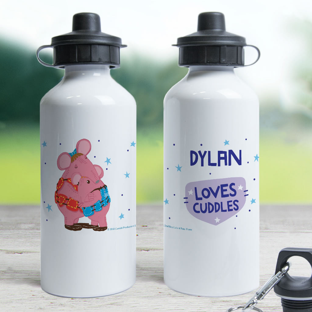 Cuddles Clangers Personalised Water Bottle (Lifestyle)