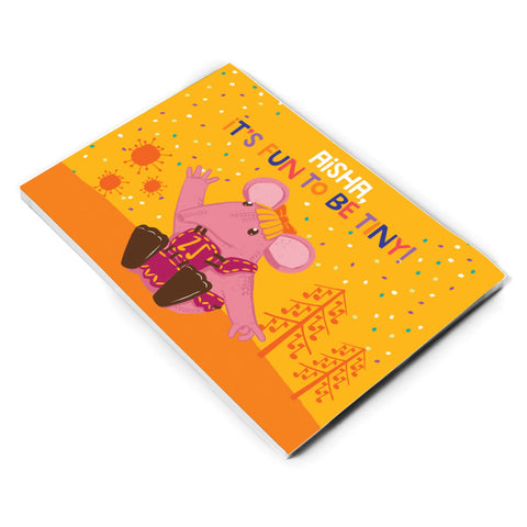 Fun to be Tiny Clangers Personalised A5 Note Pad