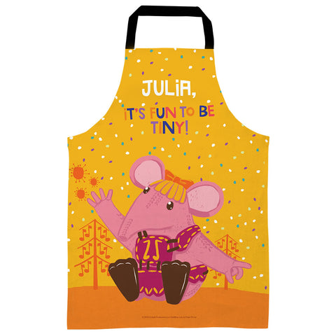 Fun to be Tiny Clangers Personalised Apron