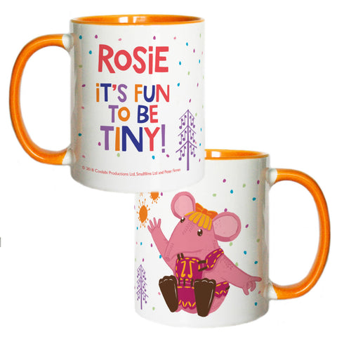 Fun to be Tiny Clangers Personalised Coloured Insert Mug
