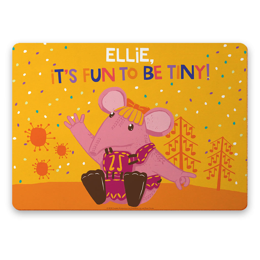Fun to be Tiny Clangers Personalised Placemat