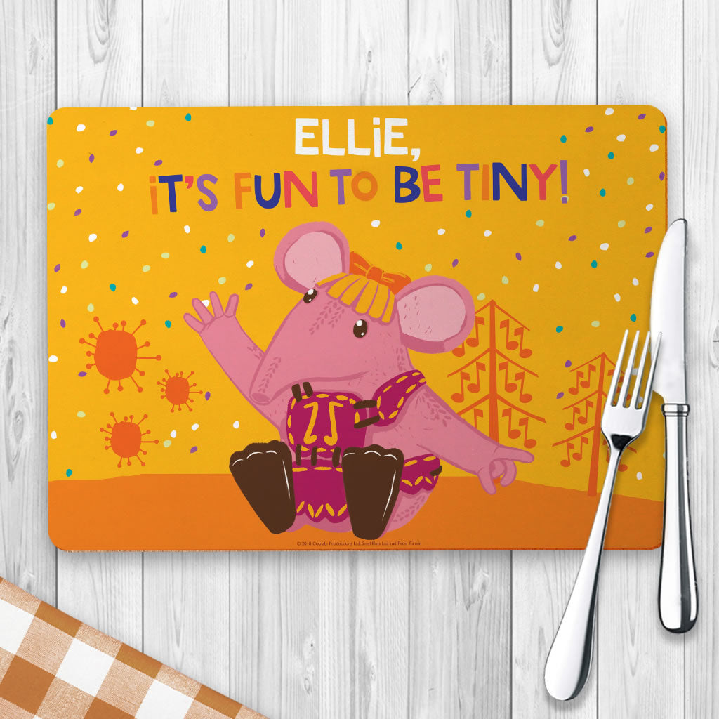 Fun to be Tiny Clangers Personalised Placemat (Lifestyle)