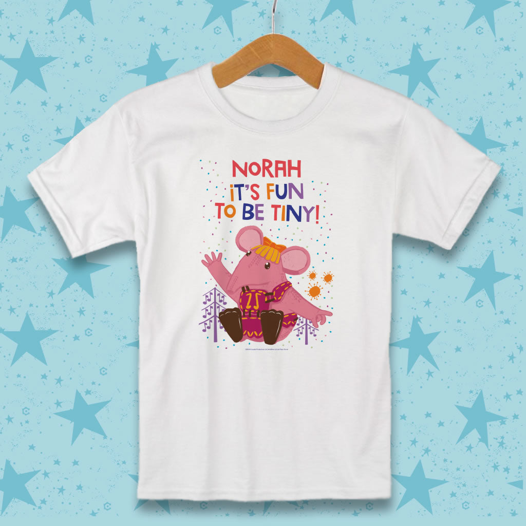 Fun to be Tiny Clangers Personalised T-Shirt