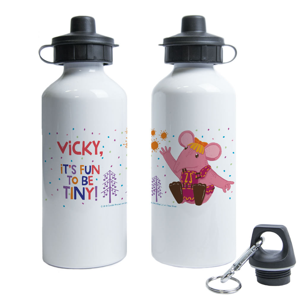 Fun to be Tiny Clangers Personalised Water Bottle