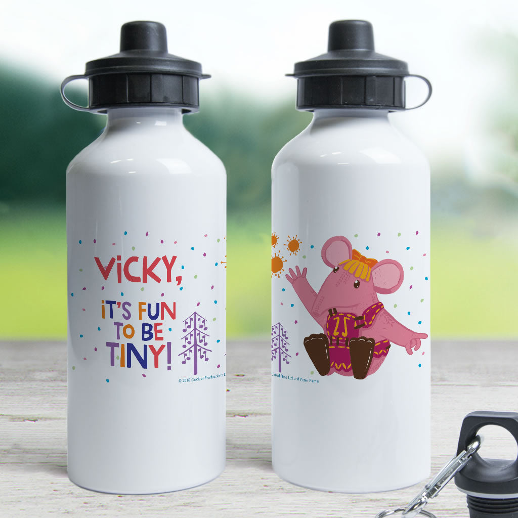 Fun to be Tiny Clangers Personalised Water Bottle (Lifestyle)