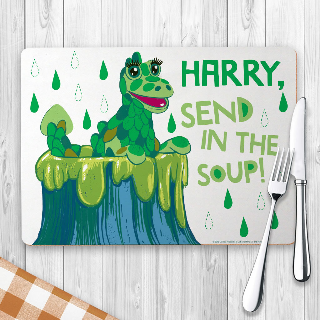 Send in the Soup Clangers Personalised Placemat (Lifestyle)