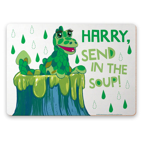 Send in the Soup Clangers Personalised Placemat