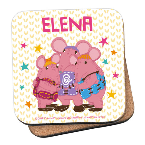 Granny Knows Best Clangers Personalised Coaster