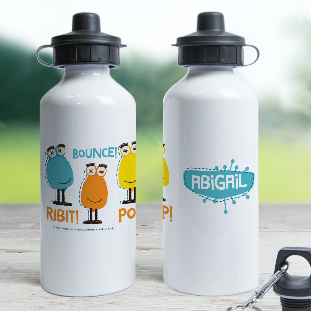 Froglet Clangers Personalised Water Bottle (Lifestyle)