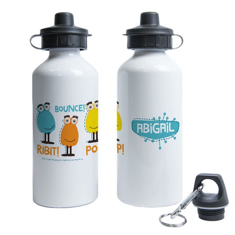 Froglet Clangers Personalised Water Bottle