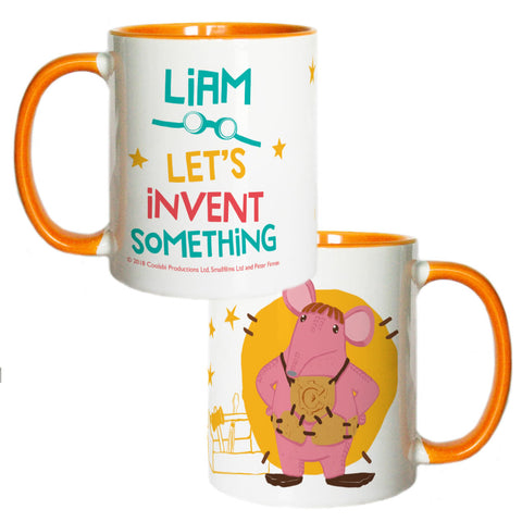 Invent Something Clangers Personalised Coloured Insert Mug