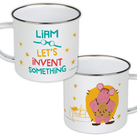 Invent Something Clangers Personalised Enamel Mug