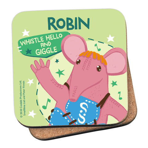 Whistle Hello Clangers Personalised Coaster