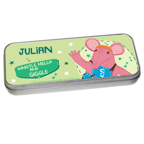 Whistle Hello Clangers Personalised Pencil Tin