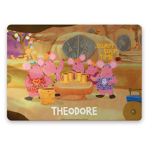 Soup Time Clangers Personalised Placemat