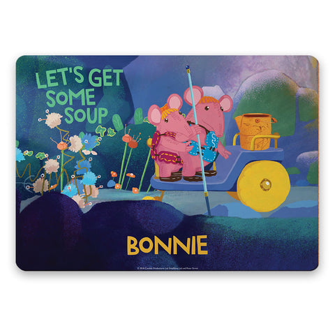 Get Some Soup Clangers Personalised Placemat