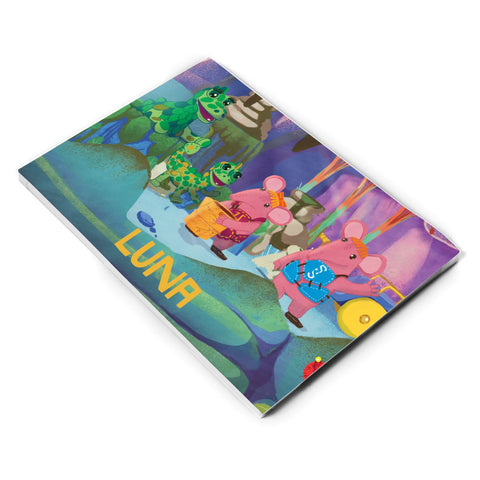 Get Some Soup Clangers Personalised A5 Note Pad