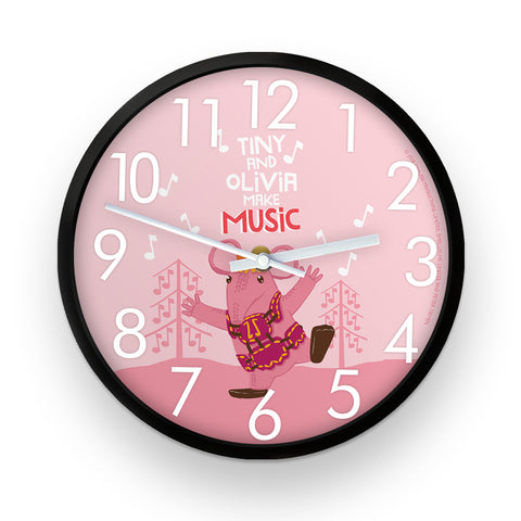 Make Music Clangers Personalised Clock