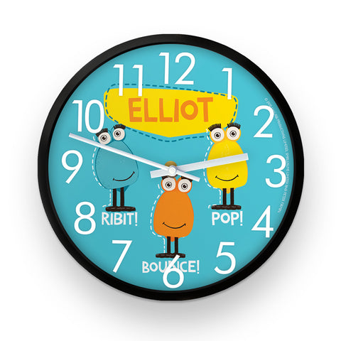 Froglet Clangers Personalised Clock