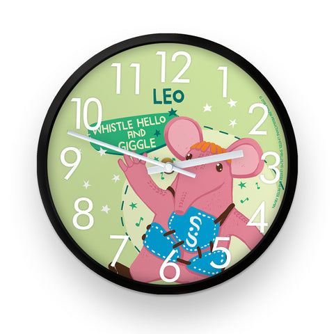 Whistle Hello Clangers Personalised Clock