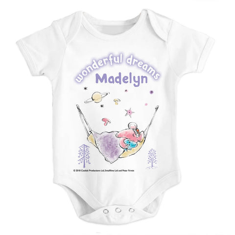 Clangers Dreams Personalised Babygrow