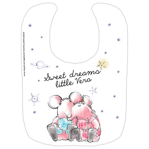 Clangers Dreams Personalised Bib