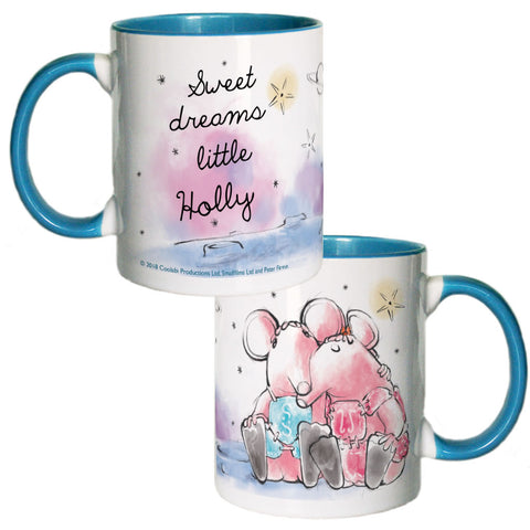 Clangers Dreams Personalised Coloured Insert Mug
