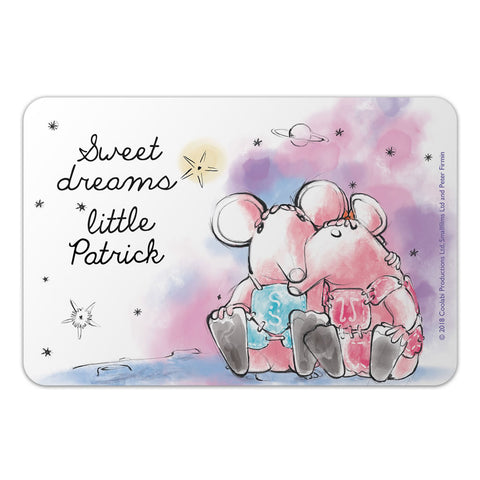 Clangers Dreams Personalised Door Plaque