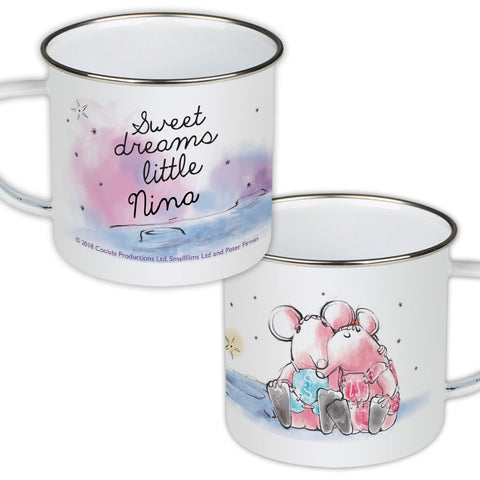 Clangers Dreams Personalised Enamel Mug