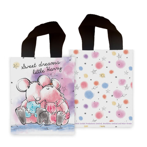 Clangers Dreams Personalised Mini Edge to Edge Tote Bag