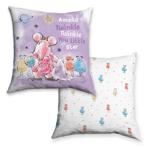 Clangers Twinkle Twinkle Personalised Cushion