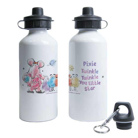 Clangers Free Hugs Personalised Water Bottle