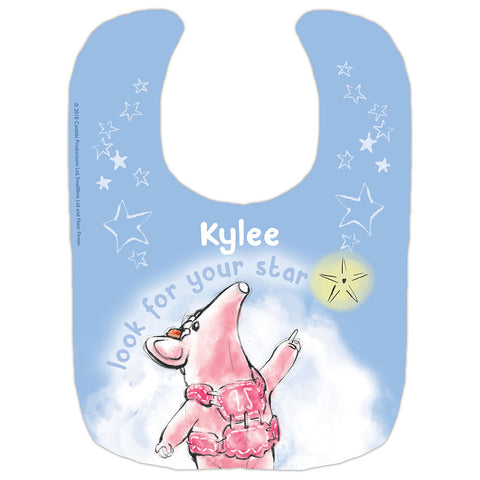 Clangers Star Personalised Bib